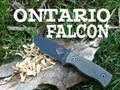 Ontario Falcon Field Test Knife Review