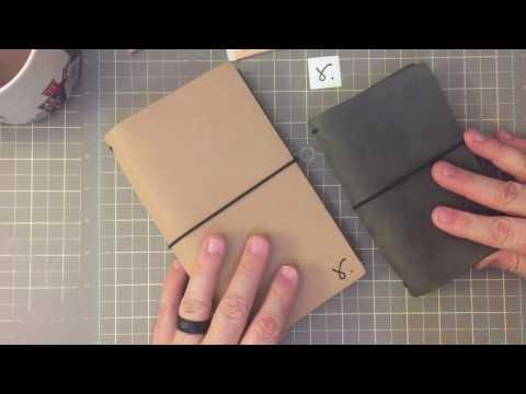 Sojourner Traveler's Notebook B6 Slim Unboxing