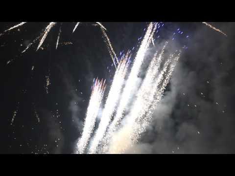 Fireworks New Year Celebration in Iceland, December 31. 2016