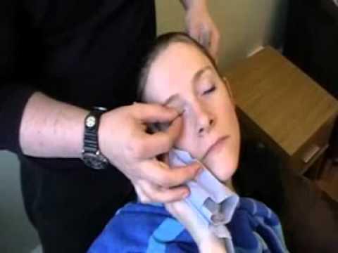 Eye wash application