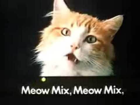 Meow Mix Commercial