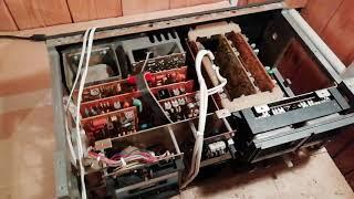 Пряме включення ''1/ ремонт магнітофона Вільма 104 стерео