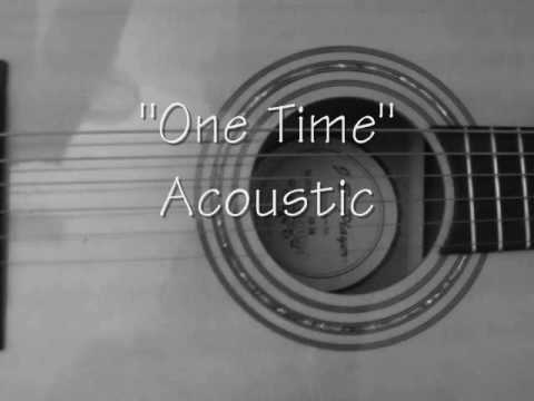 One Time Justin Bieber Acoustic Cover My Heart Edition W Chords