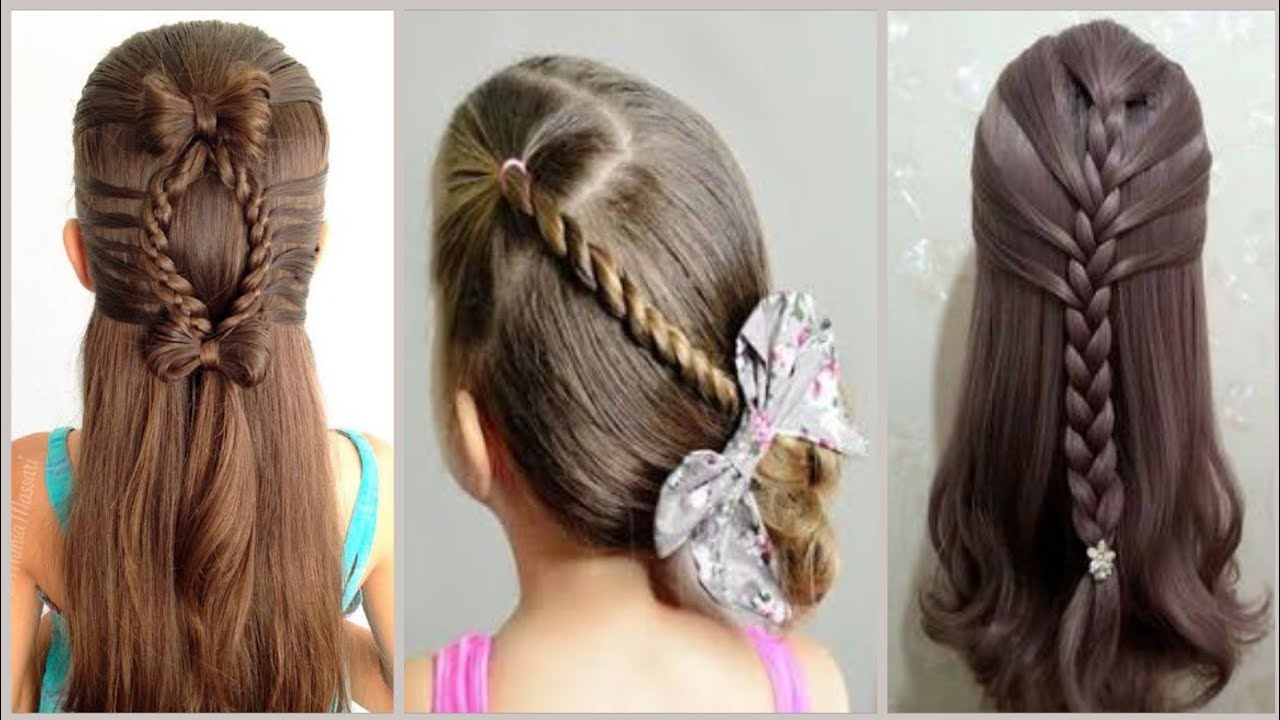 Super Sweet Baby Girl S Hairstyle Images In 2020 Baby Girl Hairstyles For Short Hair Hairstyles Youtube
