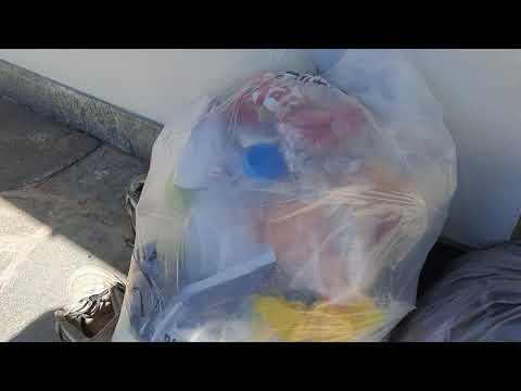 Afval scheiden: groen afval, plastic, overig afval en papier