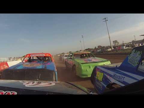Beatrice Speedway, Stock Car Heat Race, 6/9/17, 25B