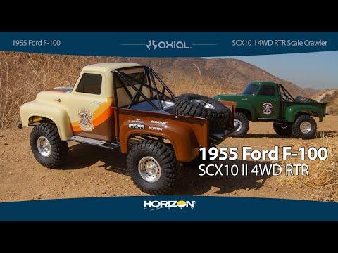 Axial SCX10™ II 1955 Ford F-100 4WD RTR Scale Rock Crawler