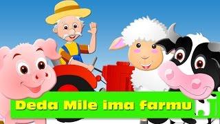 Deda Mile ima farmu | Old MacDonald Had a Farm | Dečije pesme | Pesme za decu
