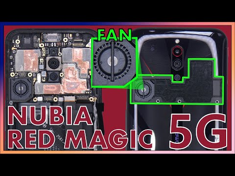 Nubia Red Magic 5G Teardown Disassembly Repair Video Review