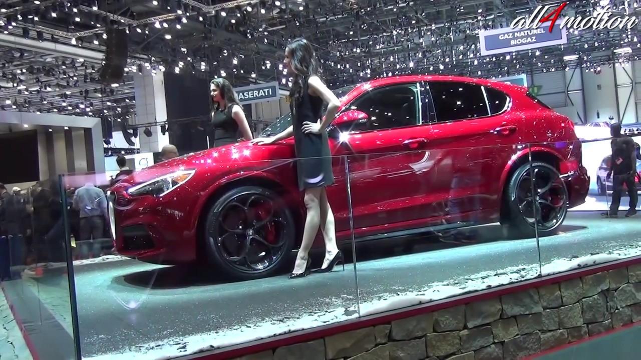 2018 Alfa Romeo Stelvio WORLD PREMIERE