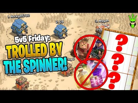 CAN I WIN THIS WAR WITH A NO SPELLS AND NO HERO ATTACK?! - 5v5 Friday -  Clash of Clans