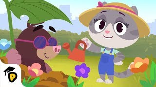 Let's Learn How To Garden!   Dr. Panda TotoTime   Kids Learning Video