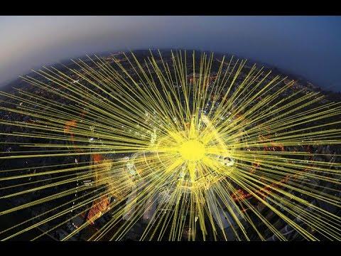 Subhanallah !!! Radiasi itu Berasal dari Makah Sebagai Pusat Bumi ! Fakta yang disembunyikan NASA