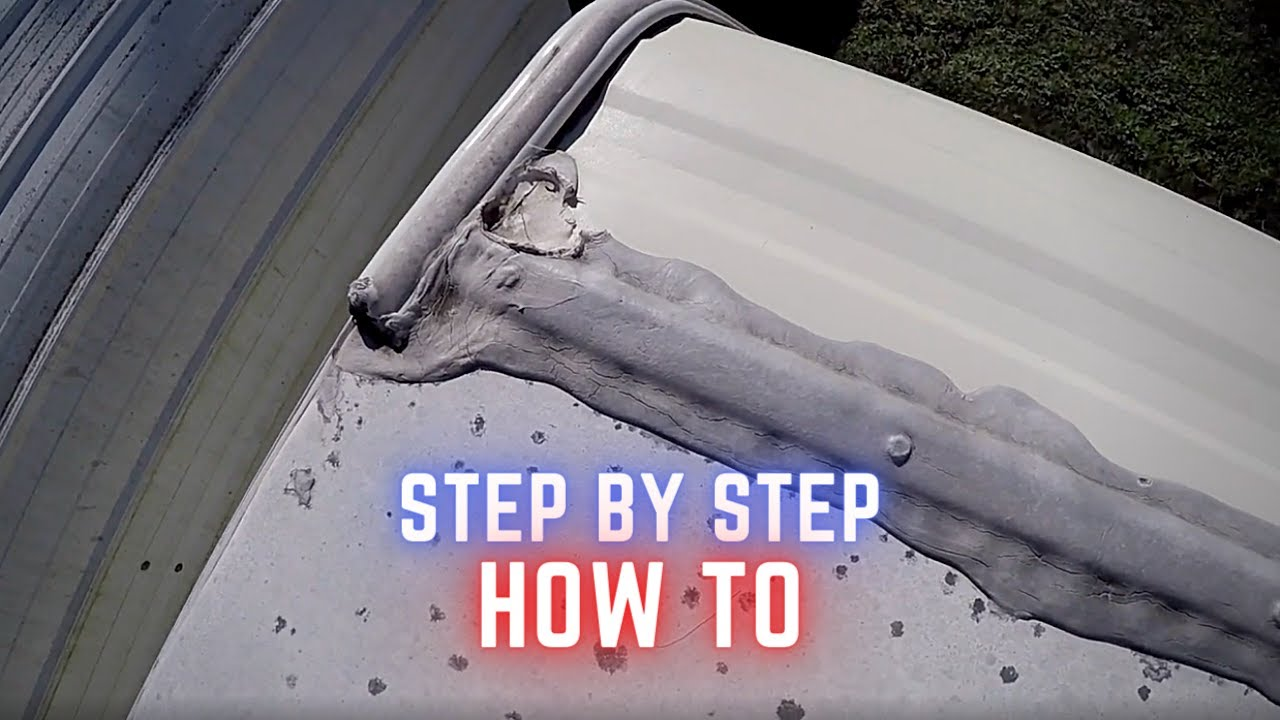how to seal rv roof