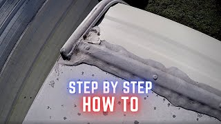 How to Seal RV Roof Seams with Dicor Lap Sealant