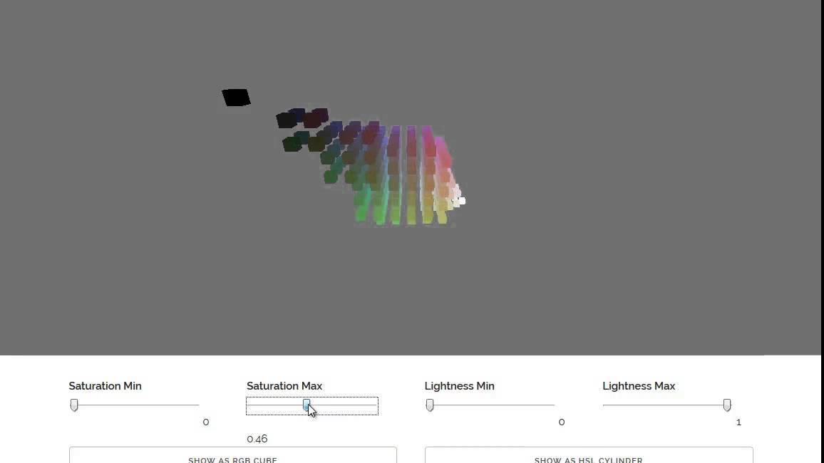 「RGB & HSL」で彩度を変化させるとこんな感じ