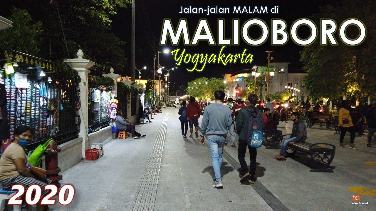 Malioboro 2020 Suasana Di Malam Hari Ramai Sekali Ya Youtube