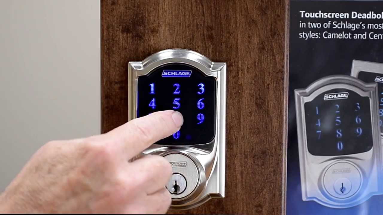 Factory Reset Procedure Schlage Connect and Schlage Sense