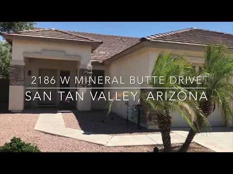 2186 W Mineral Butte Drive   San Tan Valley