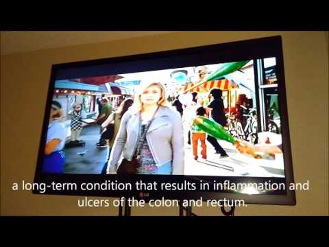 An American TV ad for a medicine...with disclaimers...