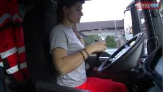 Ein Tag im Leben einer LKW Fahrerin - one day with a Truckerlady #TruckerGirl
