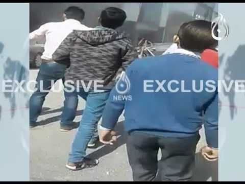 Lahore Defence Blast Exclusive Fotage