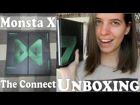 Unboxing - Monsta X - The Connect: Deja Vu - 6th mini album ALL versions