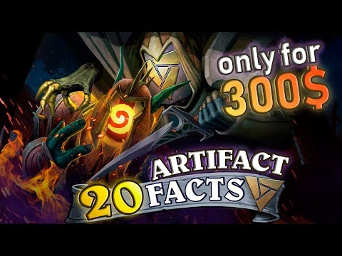 20 Facts about Artifact: Will Artifact Kill Hearthstone? Price, Beta Key, Trade, Opinion, Guide.