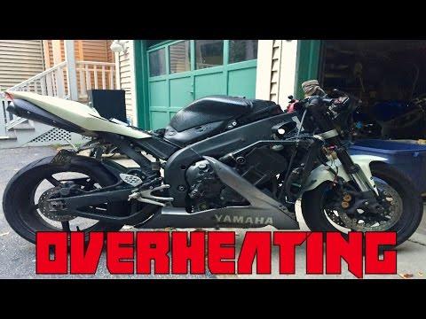YAMAHA R1 OVERHEATING FIX - YouTube