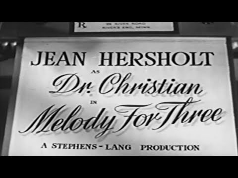 Dr. Christian: Melody for Three 1941  Orlando Eastwood Films