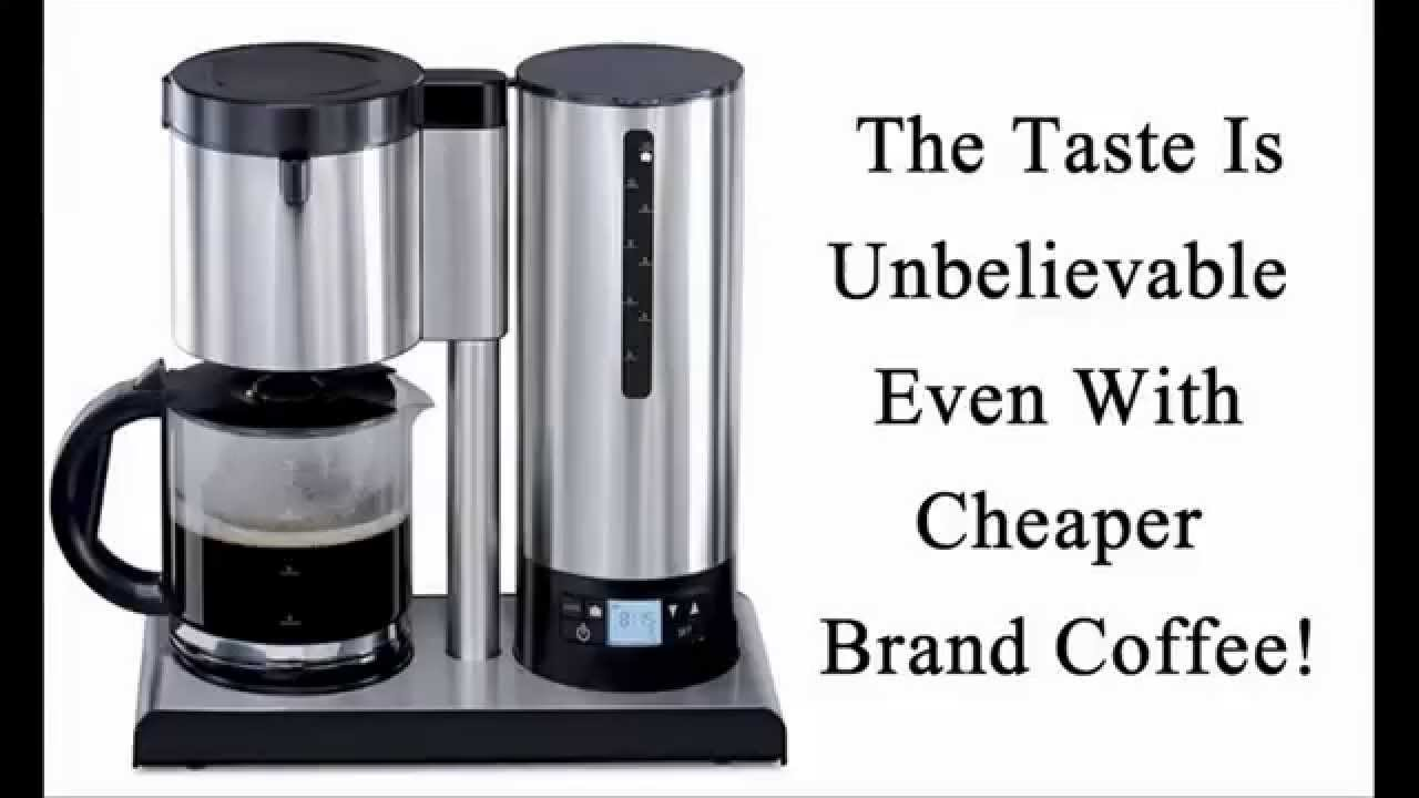 Best tasting 10 cup coffee maker in the world youtube for Best coffee maker