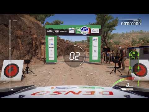 WRC 7 - eSports - Rally Mexico (Media Luna) - Jari-Matti Latvala (Toyota) 720p60 HD