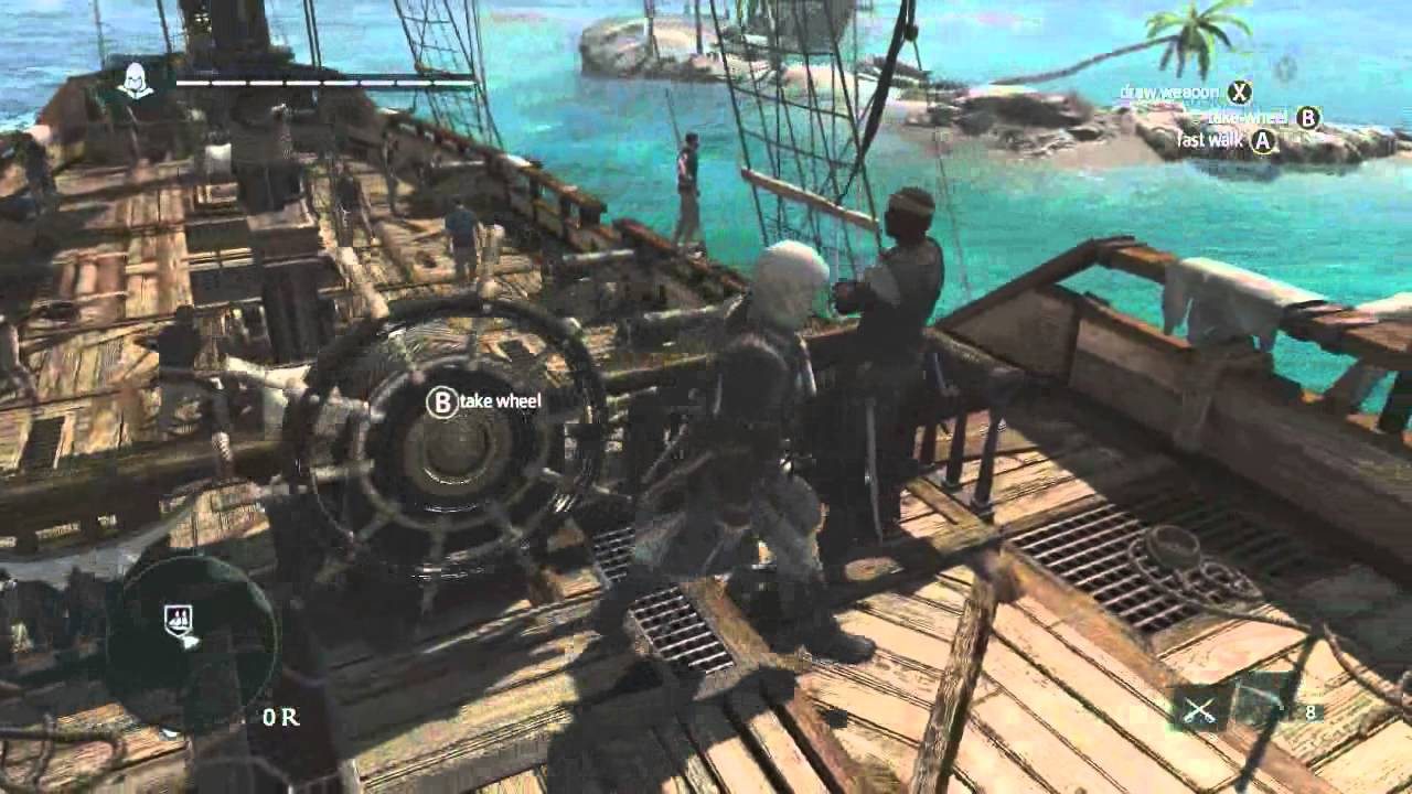 13 Minutes Of Caribbean Open World Gameplay Assassin S