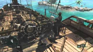 13 Minutes Of Caribbean Open World Gameplay | Assassin's Creed 4 Black Flag [north America]