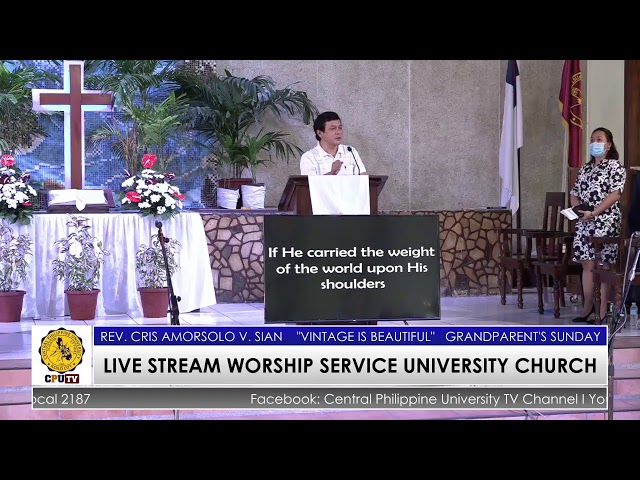 LIVE STREAM WORSHIP SERVICE UNIVERSITY CHURCH