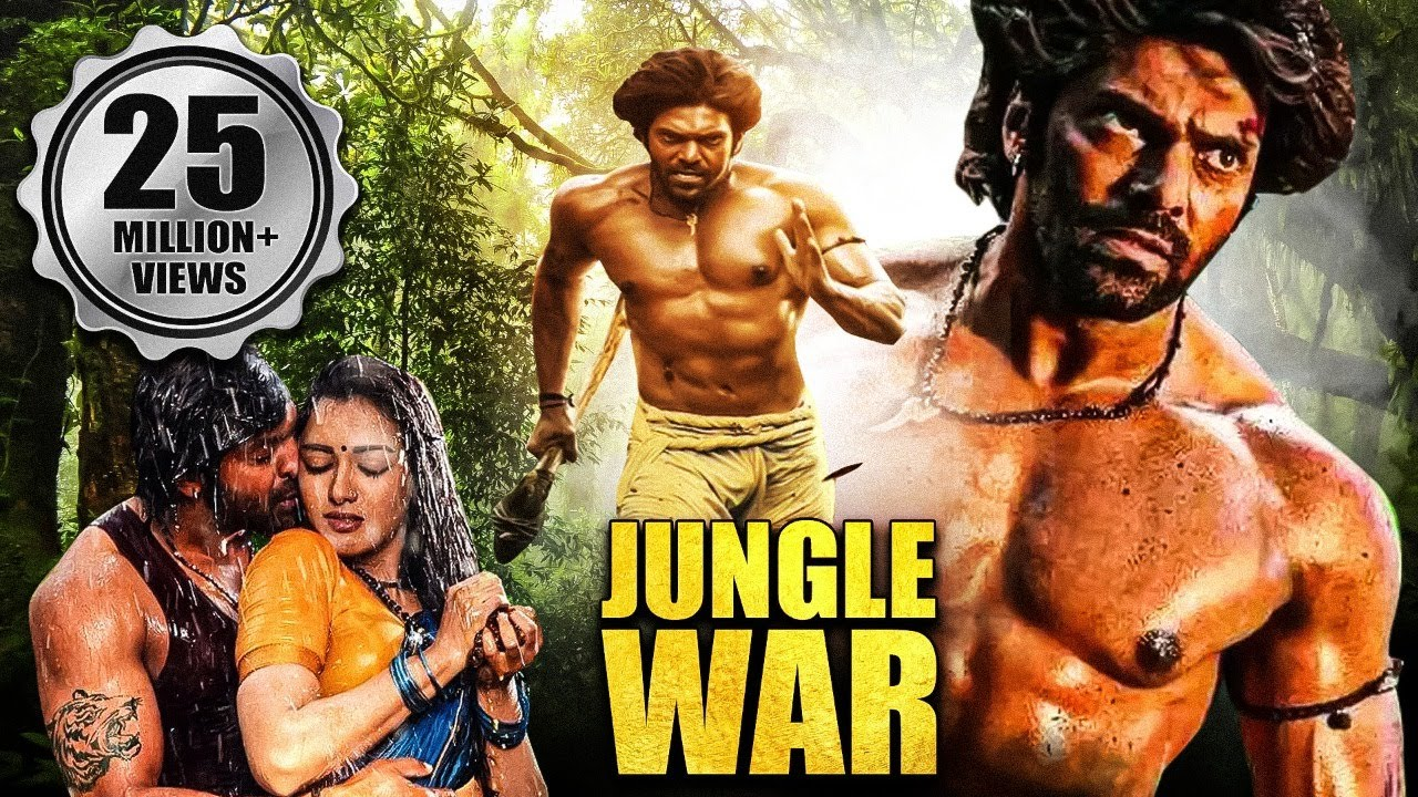 Download Jungle War Full Hindi Dubbed Movie | Arya, Catherine Tresa | Telugu Hindi Dubbed Movies