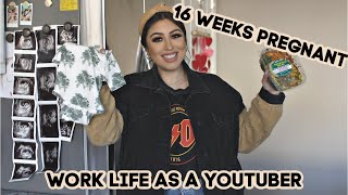 What WORK LIFE is REALLY LIKE as a PREGNANT YOUTUBER