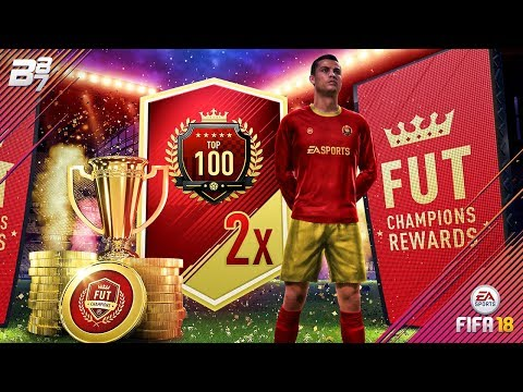 TOP100 FUT CHAMPIONS REWARDS! 2x ULTIMATE TOTW PACKS | FIFA 18 ULTIMATE TEAM