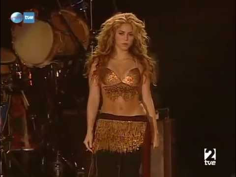 Shakira - 10) Ojos asi (2008, Rock In Rio,...