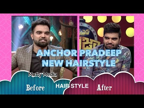 Anchor Pradeep New Hair Style