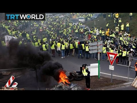 France Fuel Protests: Demostrators block roads over fuel price hike