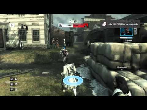 Assassin's creed 3 Multijugador Ep.19   La suerte de mi lado!
