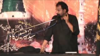 Zakir Malik Ali Raza Khokhar (Shahadat-e-bibi Fatima-tu-Zahra s.a)13 March 2016 Darbar Shah Payara