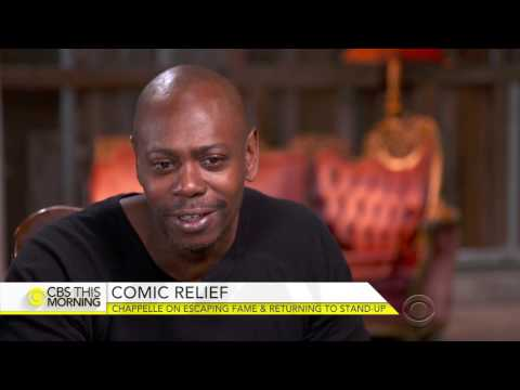 Dave Chappelle's CBS This Morning Interview.