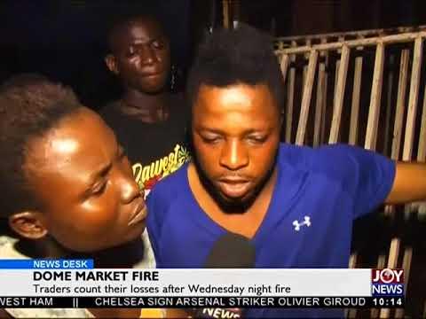 Dome Market Fire - News Desk on Joy News (1-2-18)