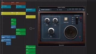 AudioThing Speaker - Overdrive and Speaker Emulation Plugin - Demo