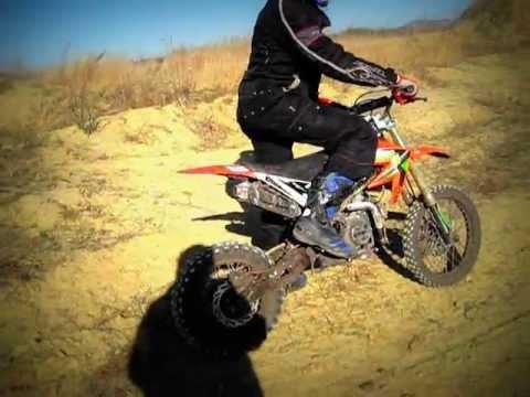 X-moto 140 & Blata 125 BXM - first ride on rnduro track
