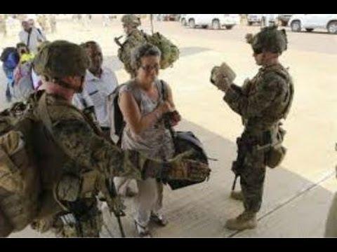 Baghdad U.S. Embassy Evacuate Personnel  as Iraq Crises Grows 2014