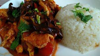 Мушуру, Блюдо из китайских древесных грибов/ Вкусно и полезно!