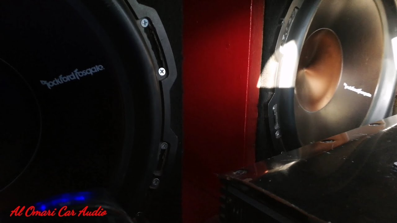 Clean Bass 2 15s ROCKFORD FOSGATE